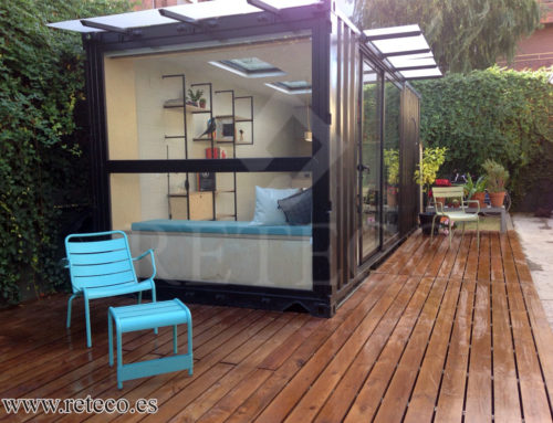 Habitable container Sale-Garden House